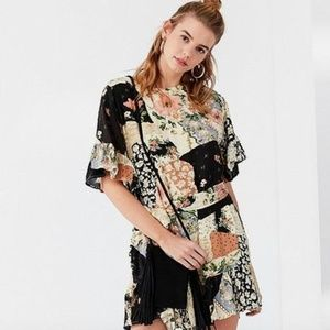 Urban Outfitters Suddenly Spring Patchwork Dress